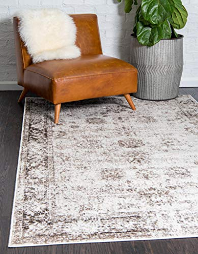 Unique Loom Sofia Traditional Area Rug, 5' 0 x 8' 0, Beige