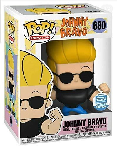 Funko Pop! Animacion: Johnny Bravo Shop Figura de vinilo exclusiva #680