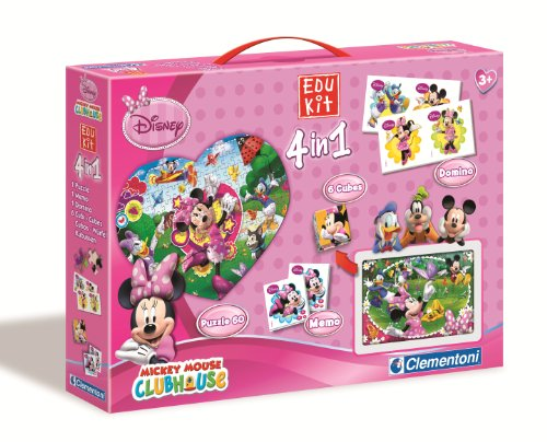 Clementoni - Edukit Mickey Mouse Club House (17-12885)
