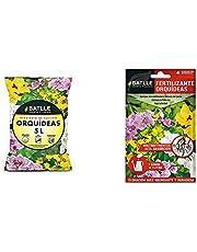 Sustratos - Sustrato Orquídeas 5l. - Batlle + Abonos - Fertilizante Orquideas sobre para 1L - Batlle