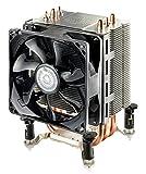 Disipador Cooler Master Hyper TX3i Sistema de Enfriamiento CPU - Compacto y Eficiente, 3 Tubos de Calor de Contacto Directo, Ventilador PWM de 92mm