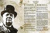 Die Weisheit von Winston Churchill Kunstdruck Hochglanz