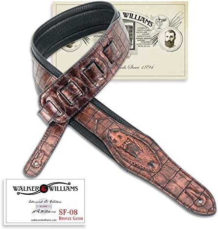 Top 10 Best alligator guitar strap