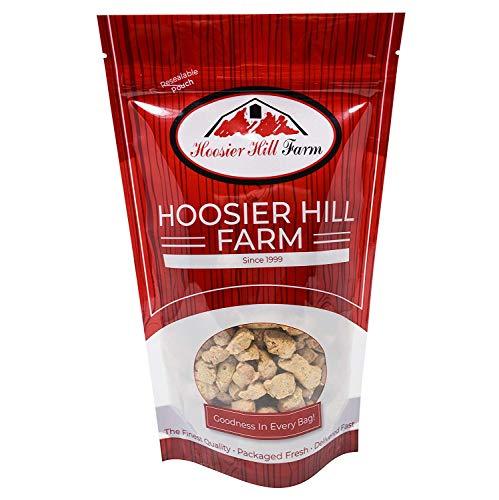 Hoosier Hill Farm Proteína vegetal texturizada (1 kg) Sustituto de carne vegetariana en trozos de TVP sin pollo simple