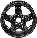 Dorman 939-110 Black Steel Road Wheel 16x6.5'/5x110mm with 40mm Offset