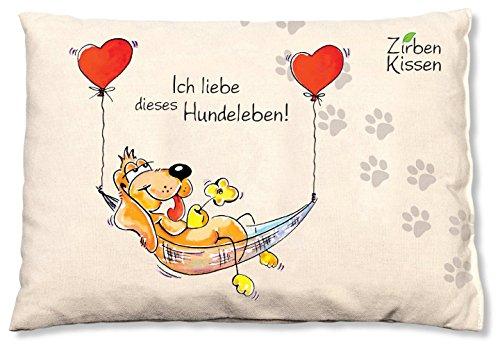 Oups Zirbenkissen für Hunde Ich Liebe Dieses Hundeleben