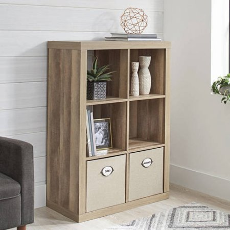 Better Homes and Gardens 6-Cube Organizer (Weathered) (Weathered)