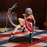 Rosario To Vampire Figura de acción 15cm Tender Akashiya Moka Escultura Estatua Decoraciones Modelo Figura de acción Animada Juguete Figura de Anime Regalos