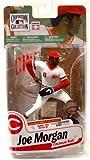 Cooperstown Collection MLB Joe Morgan Cincinnati Reds Second Baseman Baseball Player Action Figure