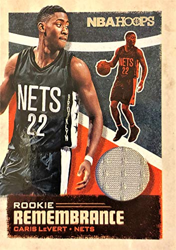 CARIS LeVERT 2019-20 Panini NBA Hoops Basketball JERSEY PATCH Card - Rookie Remembrance - Brooklyn Nets