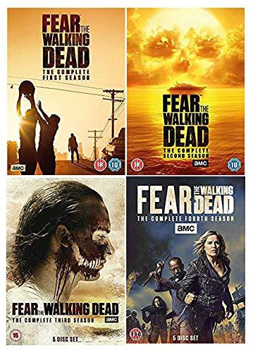 Fear The Walking Dead Season 1-4 Complete DVD Collection