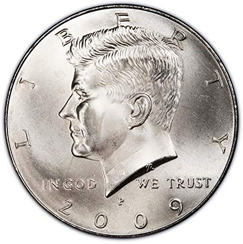 2009 P Satin Finish Kennedy Half Dollar Choice Uncirculated US Mint