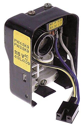 Gehäuse für Kompressor mit Relais und Klixon Breite 70mm Höhe 45mm Länge 92mm elektrisch