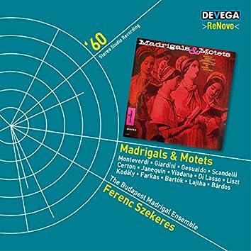 Madrigals & Motets