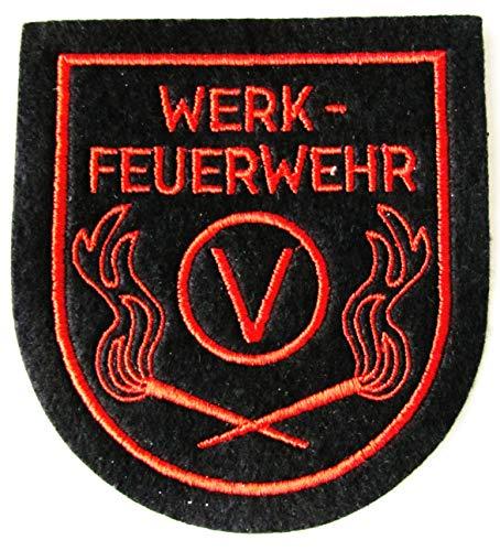 Werkfeuerwehr - Vulkan Bremen - Ärmelabzeichen - Abzeichen - Aufnäher - Patch