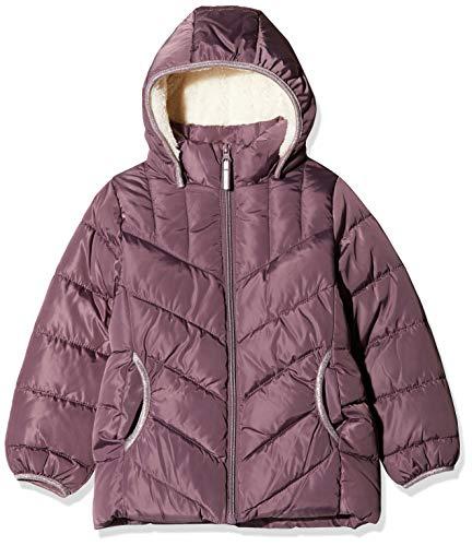NAME IT Mädchen NKFMUS Puffer Jacket Camp Jacke, Violett (Black Plum Black Plum), (Herstellergröße: 152)