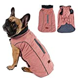 Withu Cold Winter Dog Pet Coat Jacket Vest Warm Outfit Clothes for Small Medium Large Dogs Pink S