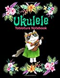Ukulele Tablature Notebook: Island Cat Lover Hula Ukulele Blank Tablature Sheet Music 8.5 x 11 with 104 Pages of Notebook Tab Paper for Composing or Practicing Music