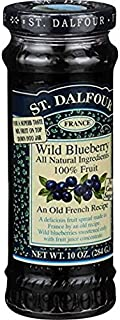 St. Dalfour Wild Blueberry Conserves, 5 Pack (10 Oz Each)