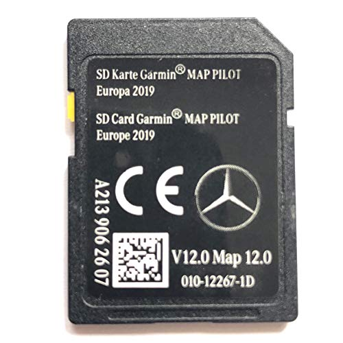SD CARD MERCEDES GARMIN MAP PILOT STAR2 v12 Europe 2019 - A2139062607