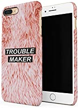 Trouble Maker Babygirl Girl Gang Girly Ginger Orange Animal Fur Pattern Durable Hard Plastic Snap On Phone Case Cover Shell For iPhone 7 Plus/iPhone 8 Plus Carcasa