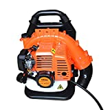 Robbey Backpack Leaf Blower, 63CC 2-Cycle Gas Leaf Blower, Backpack Blowers Gas Powered