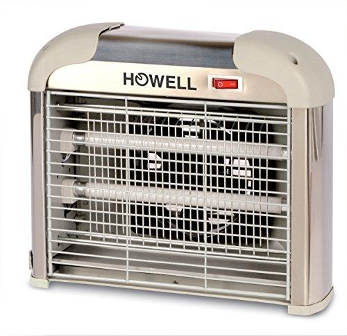 Howell HIK13ASP Insect Killer con Aspiratore, 12 Watt, Beige, 28x8.4x23.4 cm