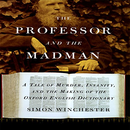 The Professor and the Madman audiobook cover art