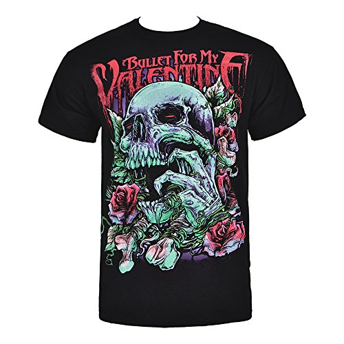 Bullet for my valentine T-Shirt Bullet For My Valentine - Skull Red Eyes Taille XXL