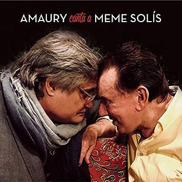 Amaury Canta a Meme Solís