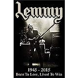 CDecor Lemmy Blechschilder, Metall Poster, Retro Warnschild