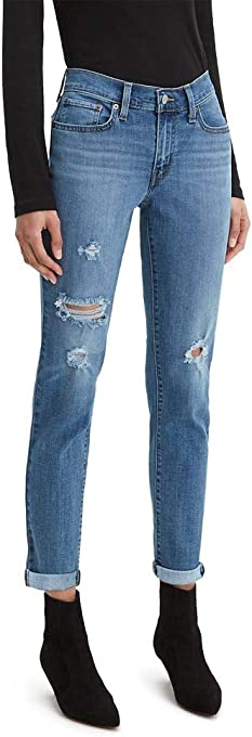 Levi's Women's New Boyfriend Jeans (Standard and Plus)