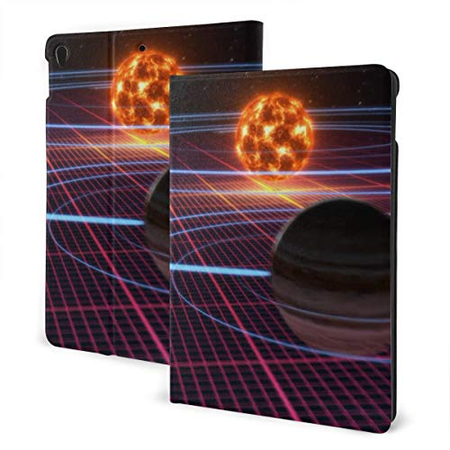 Binary Stars in Space Ipad Protective Cover Soft Non-Slip for Ipad 7th,Ipad Air 3 & Pro,Protective Cover with Auto Sleep Wake Ultra Slim Lightweight Stand Case,4,IPad 7th 10.2