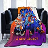 Cartoon Blankets Super Soft 3D Printed Throw Blankets Lightweight Cozy Microfiber Bed Blanket for Boys Girls Adults Teenager