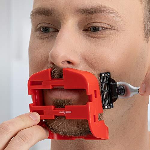 SleekGoatee Goatee Shaving Template & Lineup Tool   Fully Adjustable...