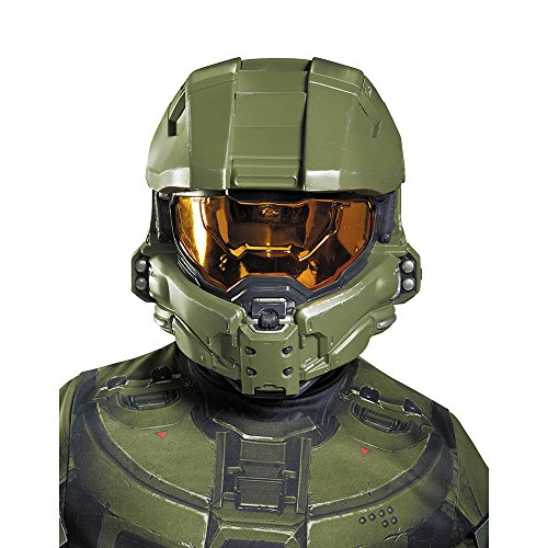 Disguise Master Chief Child Half Mask Costume by Disguise