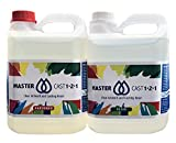 MasterCast Clear Art Resin, 4kg kit (4L / 1.1 gal),ASTM D-4236