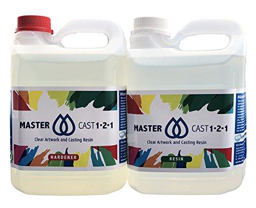 Master Cast 1-2-1 Resin, 4 kg