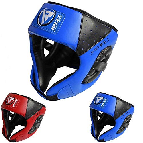 RDX Boxing Headguard Kids MMA Junior Headgear for Fighting Kickboxing Head Guard Training Sparring Martial Arts Youth Head Protector for Children Muay Thai Taekwondo Karate Judo