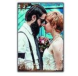 Retro Blechschild mit deinem Foto - Metall-Wandbild mit