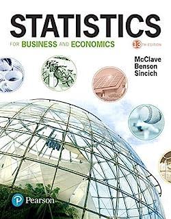 Statistics for Business and Economics (0134506596)   Amazon price tracker / tracking, Amazon price history charts, Amazon price watches, Amazon price drop alerts