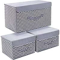 3-Pack Joyoldelf Storage Bins with Lids