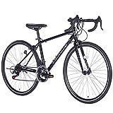 21Technology ロードバイク (700×28c) 自転車 シティサイクル シマノ14段変速ギヤ 街乗り 通勤 通学 スポーツ自転車 初心者 700C