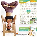 FeetUp® Trainer (L'original) Tabouret de yoga - Maîtrisez les postures inversées sans risque. Tonifiez votre corps. Détendez-vous.