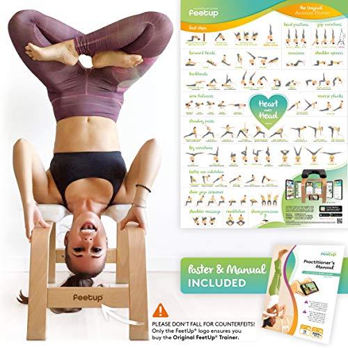 Feetup - Banco de yoga con reposacabezas
