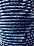10 M cuerda elástica 6 mm negro de goma largo tensor elástico de trekking. Cuerda de lona