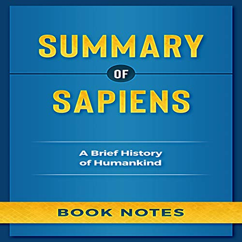 Summary of Sapiens: A Brief History of Humankind cover art