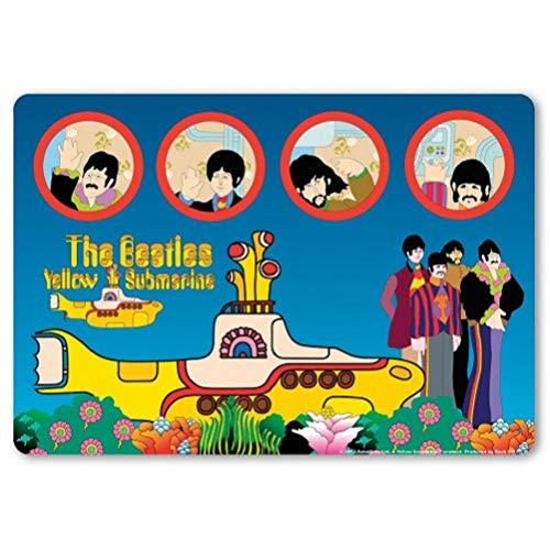 The Beatles muismat geel submarine band muismat onderlegger