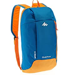 Material:Water and Tear Resistant Nylon material. Adjustable shoulder straps; Two main compartments. Capacity:10L, Dimensions:15.7*9.1*3.9 Inch, Weight:5.6 oz / 0.160 kg. Fits Ipad,Textbook,Purse,Phone,Clothes and Pens. High value of money, very good...