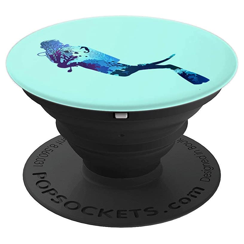 Scuba Diving Instructor - Scuba Pro Dive - Scuba Gear - PopSockets Grip and Stand for Phones and Tablets